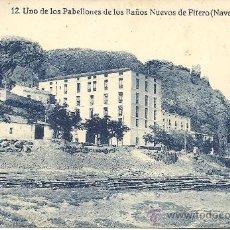 Postales: PS1864 FITERO 'UNO DE LOS PABELLONES DE LOS BAÑOS NUEVOS'. NÚM. 12. ED. FALCES Y BOZAL. SIN CIRCULAR. Lote 27622242