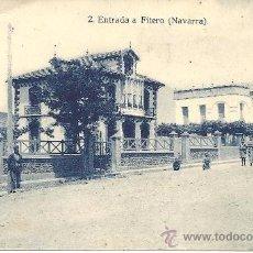 Postales: PS1861 FITERO 'ENTRADA'. NÚM. 2. ED. FALCES Y BOZAL. SIN CIRCULAR. Lote 27622273