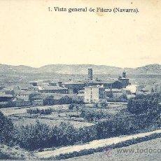 Postales: PS1859 FITERO 'VISTA GENERAL'. NÚM. 1. ED. FALCES Y BOZAL. SIN CIRCULAR. Lote 27622299