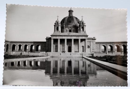 POSTAL PAMPLONA MONUMENTO A LOS CAÍDOS EDICIONES SICILIA AÑOS 50 SIN CIRCULAR (Postales - España - Navarra Moderna (desde 1.940))