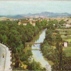 Postales: PAMPLONA - RIO ARGA Y VISTA PARCIAL - Nº 7 - SIN CIRCULAR - ED. EX. VENTA POSTAL - AÑO 1960. Lote 28244510