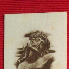Postales: SANTO CRISTO DE LA AGONIA - RONCESVALLES. Lote 28450575
