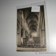 Postales: POSTAL BALNCO Y NEGRO PAMPLONA, CATEDRAL TRASCORO.. Lote 28600887