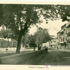 Cartes Postales: TAFALLA. PASEO P. CALATAYUD. EDICIONES ARRIBAS. ZARAGOZA. HACIA 1950.. Lote 28666864
