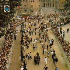 Postales: PAMPLONA - 20 FIESTAS DE SAN FERMÍN - EL ENCIERRO. Lote 28697853