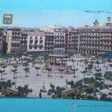 Postales: PLAZA DEL CASTILLO. PAMPLONA Nº 51. ESCUDO DE ORO. Lote 29270591