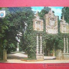 Postales: PAMPLONA. JARDINES DE LA TACONERA. ANTIGUO PORTAL DE SAN NICOLÁS. Lote 29318809