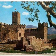 Postales: NAVARRA. CASTILLO DE JAVIER.. Lote 29915844