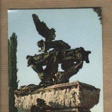 Postales: POSTAL RONCAL. MAUSOLEO DE GAYARRE. OBRA DE BENLLIURE.ESCRITA.EDICIONES COMPLEX.JACA.FOTO PEÑARROYA. Lote 30072413