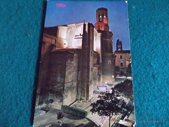 NAVARRA-E16-NO ESCRITA-TUDELA-CATEDRAL (Postales - España - Navarra Moderna (desde 1.940))