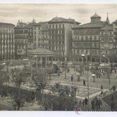 Postales: POSTAL PAMPLONA - PLAZA DEL CASTILLO - FOTO RUPEREZ 1957. Lote 30234061