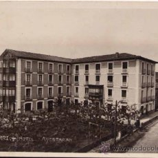 Postales: LECUMBERRI (NAVARRA).- HOTEL AYESTARÁN. Lote 30255190