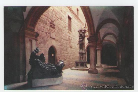 SANTUARIO DE LOYOLA - FUENTE SAN IGNACIO Y ENTRADA SANTA CASA - EDICIÓN ECHEZARRETA - POSTAL (Postales - España - Navarra Moderna (desde 1.940))