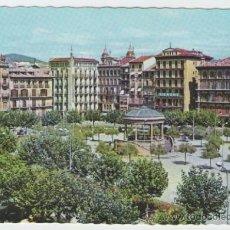 Postales: PAMPLONA - PLAZA DEL CASTILLO - EDICIÓN GARRABELLA - POSTAL. Lote 30500319