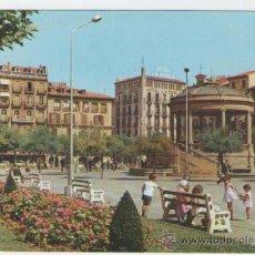 Postales: PAMPLONA - PLAZA DEL CASTILLO - EDICIÓN GARRABELLA - POSTAL. Lote 30500359