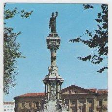 Postais: PAMPLONA - MONUMENTO A LOS FUEROS Y DIPUTACIÓN - EDICIÓN FOURNIER - POSTAL. Lote 30500396