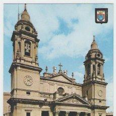 Postales: PAMPLONA - FACHADA CATEDRAL - EDICIÓN ESCUDO DE ORO - POSTAL. Lote 30500598