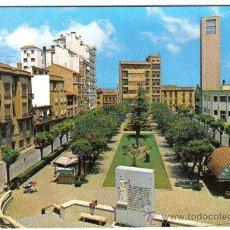 Cartoline: POSTAL TUDELA NAVARRA PASEO DE VADILLO Y MONUMENTO A LOS FUEROS (NO CIRCULADA ). Lote 30527066