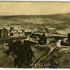 Postales: POSTAL CASTILLO DE JAVIER NAVARRA VISTA PANORAMICA. Lote 31017115