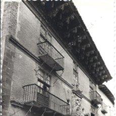 Postales: PS2590 SANGÜESA 'FACHADA DEL PALACIO MARQUESA VALLE SANTORO'. ED. SICILIA. SIN CIRCULAR. Lote 31523659