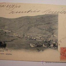 Postales: 8 VERA NAVARRA RARA POSTAL AÑOS 1899 REVERSO SIN DIVIDIR - CIRCULADA EN 1904. Lote 31650004