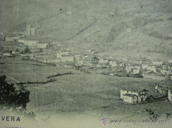 Postales: 8 VERA NAVARRA RARA POSTAL AÑOS 1899 REVERSO SIN DIVIDIR - CIRCULADA EN 1904 - Foto 2 - 31650004