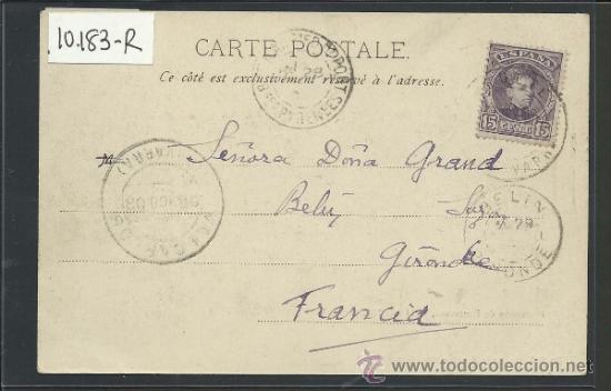 Postales: RONCESVALLES - PROCESION 14 DE MAYO DE 1902 - CIRCULADA - VER REVERSO - (10.183) - Foto 2 - 31853087