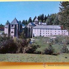 Postais: POSTAL DE RONCESVALLES, NAVARRA. AÑO 1968. VISTA GENERAL Y ÁBSIDE. 38. . Lote 32107024