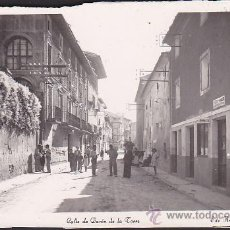 Postales: POSTAL CINTRUENIGO CALLE DEL BARON DE LA TORRE . Lote 32110772