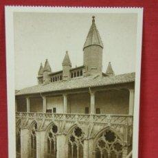 Postales: TARJETA ED. L. ROISIN BARCELONA 31 PAMPLONA CATEDRAL TORRES DE LA BARBAZANA (SIGLO XIV). Lote 32293318