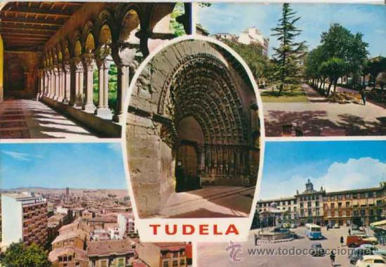 POSTAL DE TUDELA - NAVARRA - PARIS - 300 (Postales - España - Navarra Moderna (desde 1.940))