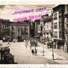 Postales: TAFALLA,PAMPLONA,1953,PLAZA DE CORTES