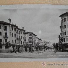 Postales: PAMPLONA. AVENIDA DE CARLOS III. NAVARRA.. Lote 32813880