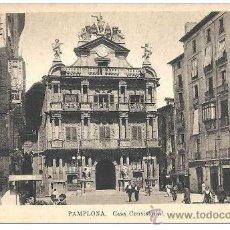 Postales: PAMPLONA - CASA CONSISTORIAL. Lote 32889081