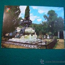 Postales: POSTAL DE RONCAL NAVARRA MAUSOLEO A GAYARRE EDIT ESCUDO DE ORO. Lote 32976894