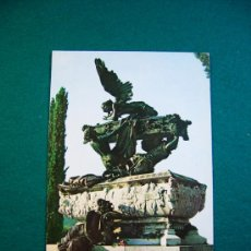 Postales: POSTAL DE RONCAL NAVARRA MAUSOLEO A GAYARRE EDIT PEÑARROYA 1966. Lote 32976921