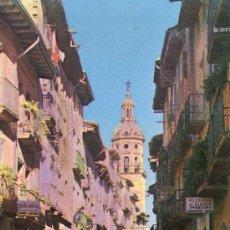 Postales: PUENTE LA REINA - NAVARRA - CALLE MAYOR . Lote 33066001
