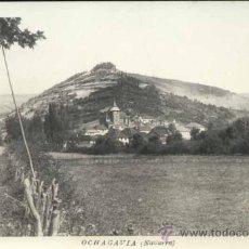 Postales: OCHAGAVIA (NAVARRA).- FOTOGRÁFICA. Lote 33991662