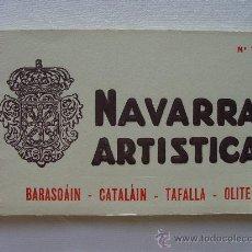 Postales: (BL-31) NAVARRA , BLOC Nº 7. 20 POSTALES. BARASOAIN, CATALAIN, TAFALLA, OLITE.. Lote 34492417