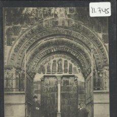 Postales: NAVARRA - LEIRE - PUERTA PRINCIPAL - 45 - FOT. ROLDAN E HIJO - (11.745). Lote 34620822