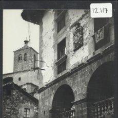 Postales: RONCAL - 4 - CASA DE LOPEZ , AL FONDO IGLESIA - ED. SICILIA - (12.117). Lote 35035588