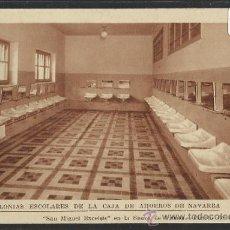 Postales: SIERRA DE URBASA - SAN MIGUEL EXCELSIS- COLONIAS ESCOLARES CAJA DE AHIORROS DE NAVARRA - (12.889). Lote 35449863