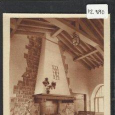 Postales: SIERRA DE URBASA - SAN MIGUEL EXCELSIS- COLONIAS ESCOLARES CAJA DE AHIORROS DE NAVARRA - (12.890). Lote 35449873