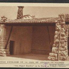 Postales: SIERRA DE URBASA - SAN MIGUEL EXCELSIS- COLONIAS ESCOLARES CAJA DE AHIORROS DE NAVARRA - (12.891). Lote 35449886