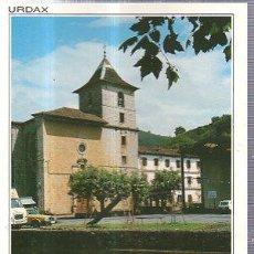 Postales: TARJETA POSTAL DAN 6, URDAX, IGLESIA DE SAN SALVADOR, EDS. SICILIA. Lote 35665761