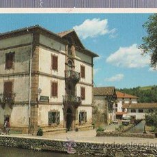 Postales: TARJETA POSTAL VISTA PARCIAL DE URDAX, ED. TELLECHEA. Lote 35665775