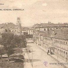 Postales: PAMPLONA - CALLE DEL GENERAL CHINCHILLA - EUSEBIO RUBIO CIRCULADA . Lote 36075569