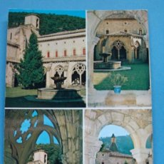 Postales: POSTAL DE NAVARRA, AÑO 1972. IRANZU, MONASTERIO. 1160. . Lote 36181051