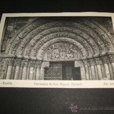 Postales: ESTELLA NAVARRA PARROQUIA DE SAN MIGUEL PORTADA. Lote 36287652
