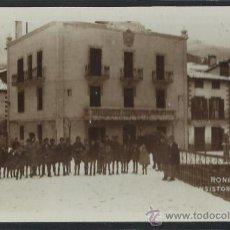 Postales: RONCAL - CASA CONSISTORIAL - FOTOGRAFICA - (14.499). Lote 36487496